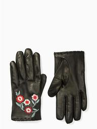 In Bloom Leather Gloves
