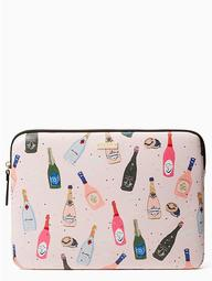 """13"""" Champagne Laptop Sleeve"""