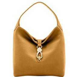 Belvedere Logo Lock Shoulder Bag