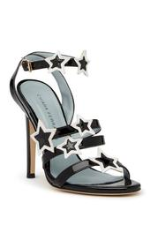 Star Applique Stappy Stiletto Heel