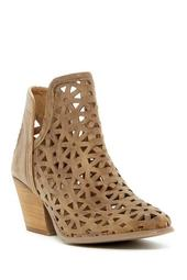 Athena Laser Cut Leather Boot