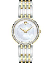 Esperanza Diamond Bezel Two-Tone Watch, 28mm