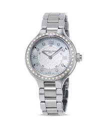 Horological Smart Watch with Diamonds, 34mm
