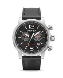 Dinamico Watches with Leather Strap, 44mm