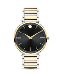 Ultra Slim Two-Tone Watch, 40mm