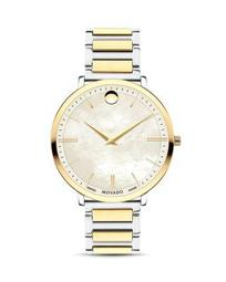 Ultra Slim Two-Tone Watch, 35mm