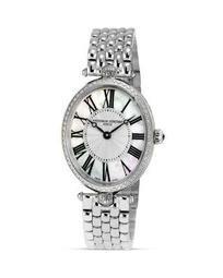 Art Deco Oval Steel Watch, 30 x 25mm