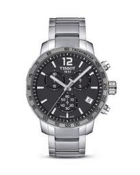 Tissot Quickster Anthracite Dial Men's Watch, 42mm