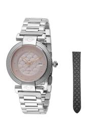 Women's Berletta Diamond Bracelet Watch - 0.004 ctw