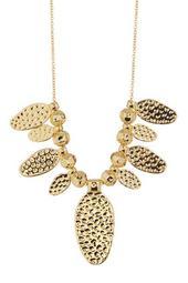 Leucadia Beaded Fan Necklace