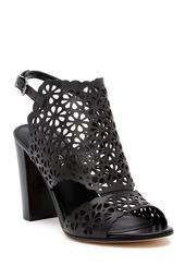 Garnet Laser-Cut Sandal