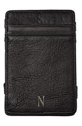 'Magic' Monogram Leather Wallet