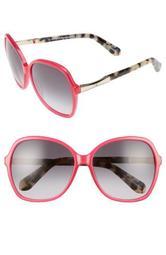 jolyn 58mm sunglasses