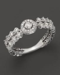 Diamond Ring in 14K White Gold, .30 ct. t.w.- 100% Exclusive