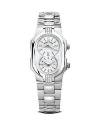 Small Signature Sport Stainless Steel and Diamond Watch, 27mm