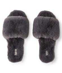 Faux Fur Slide Slipper