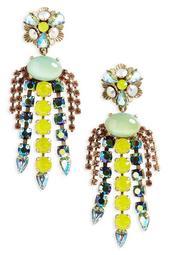 Flora Chandalier Earrings
