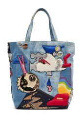 Julie Verhoven Denim Tote Bag