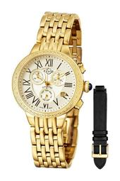 Women's Astor Diamond Chronograph Watch - 0.227 ctw