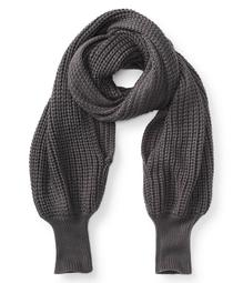Solid Sleeve Scarf