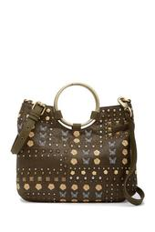 Kelsey Studded Ring Tote Bag