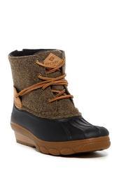 Saltwater Wedge Tide Wool Blend Boot