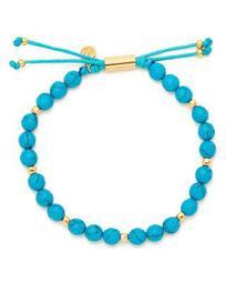 Power Turquoise Bead Bracelet