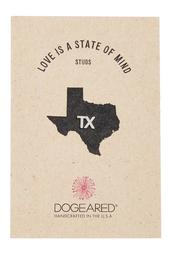 Love Is A State of Mind TX Single Stud Earring