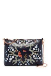 Marissa Kyoto Gardens Leather Crossbody Bag
