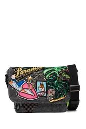 Paradise Small Courier Shoulder Bag