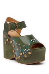 Daen Wedge Sandal