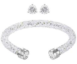 Crystaldust Solitaire Set, White