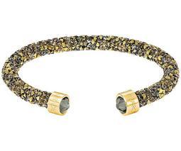 Crystaldust Cuff, Golden, Gold plating