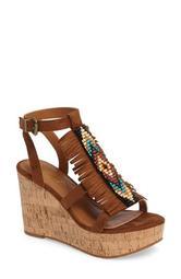 Unbridled Lolita Wedge Sandal