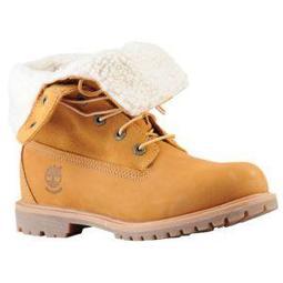Timberland Teddy Fleece Fold Down Boots - Women's