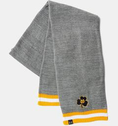 UA Notre Dame Iconic Stripe Scarf Unisex Accessories