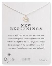 New Beginnings Pendant Necklace, 18""