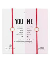 You & Me Friendship Bracelets, Set of 2