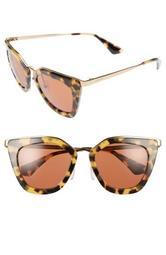 52mm Layered Frame Sunglasses