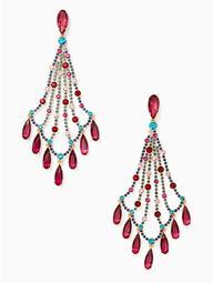 Cascade Statement Earrings