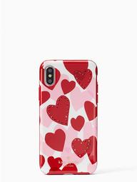 Jeweled Heart Iphone X Case