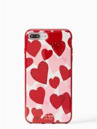 Jeweled Heart Iphone 7/8 Plus Case