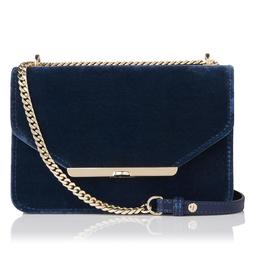 Karla Blue Shoulder Bag