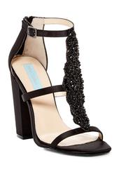 Lydia Satin Open Toe Sandal