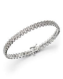 Diamond Bracelet in 14K White Gold, 1.50 ct. t.w.- 100% Exclusive
