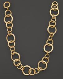 "Jaipur 18K Yellow Gold Necklace, 19"""