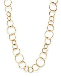 "18K Yellow Gold Luce Link Necklace, 17"" - 100% Exclusive"