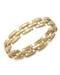 18K Yellow Gold Retro Bracelet