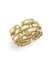 18K Yellow Gold Retro Ring