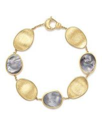 18K Yellow Gold Lunaria Bracelet with Black Mother-of-Pearl - 100% Exclusive